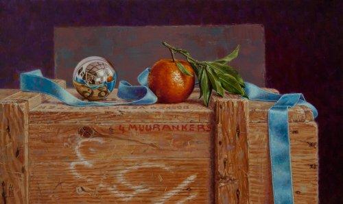 Bolspiegel met clementine