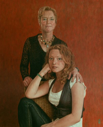 Danielle en Hannah Wagendorp