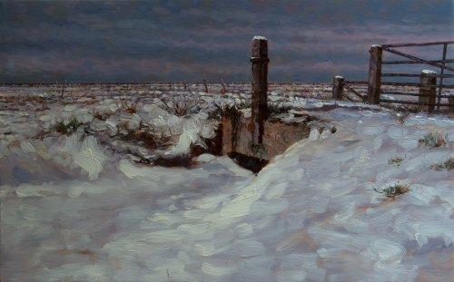 Noarderleech, Brug onder een deken van sneeuw