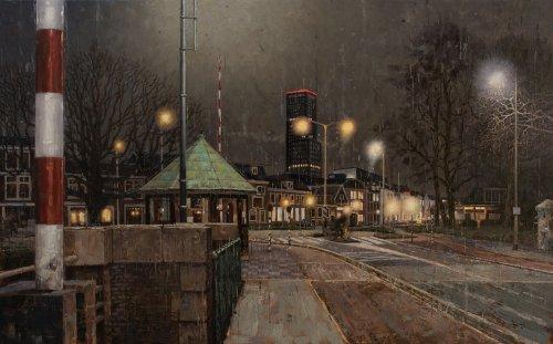 Nocturne - Vrouwenpoortsbrug Leeuwarden
