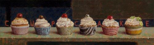 Zes Cupcakes