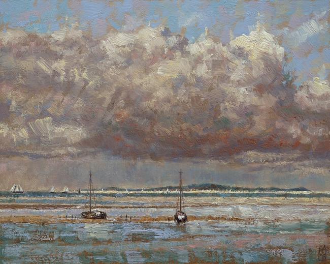 Bootjes bij Vlieland
