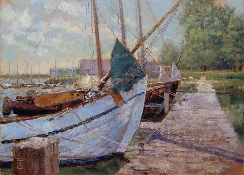 Haventje Lauwersmeer