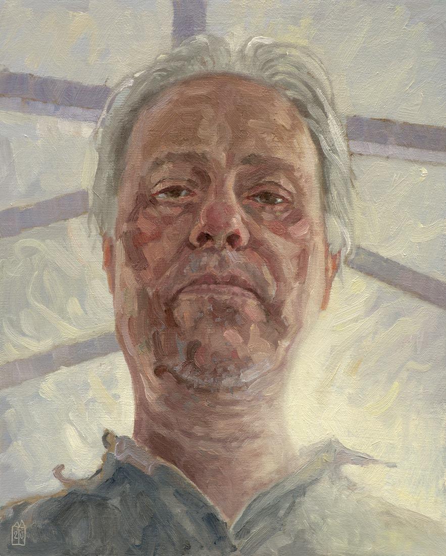 Zelfportret met daklicht
